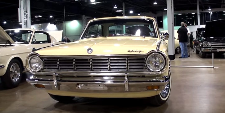 restored 1965 dodge dart charger