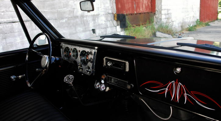 modified 1967 chevrolet c10 truck