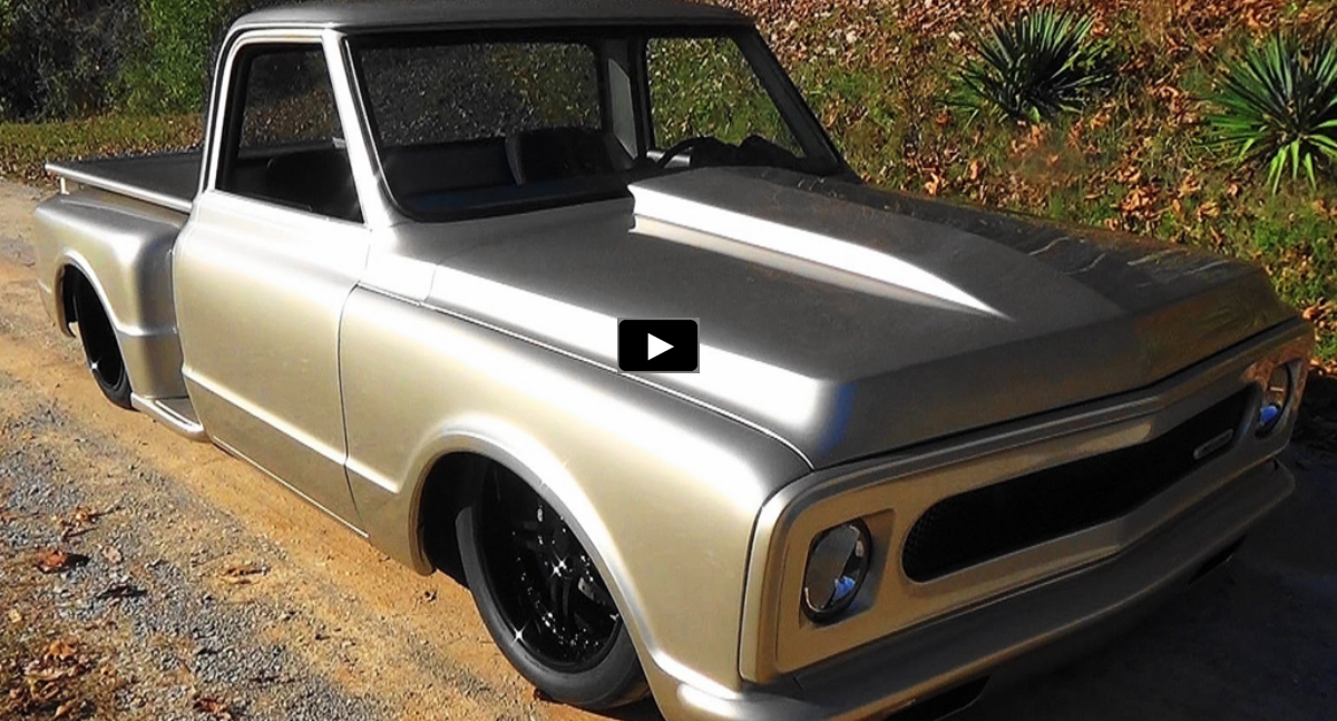 customized 1969 chevy c10 truck