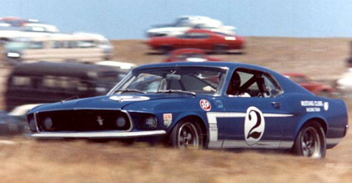 original dan gurney 1969 Mustang race car