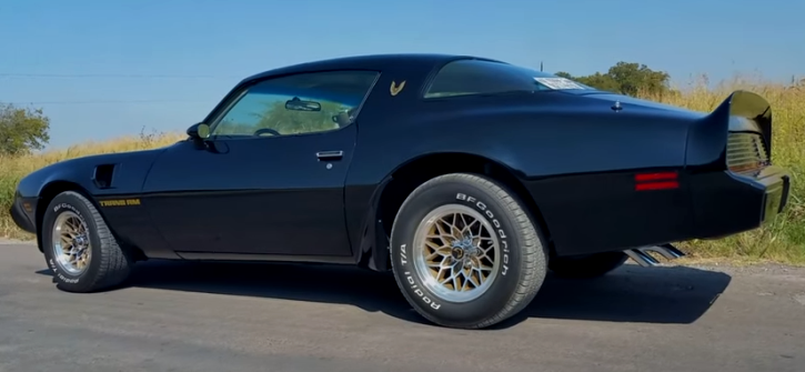 pontiac firebird trans am smokey and the bandit
