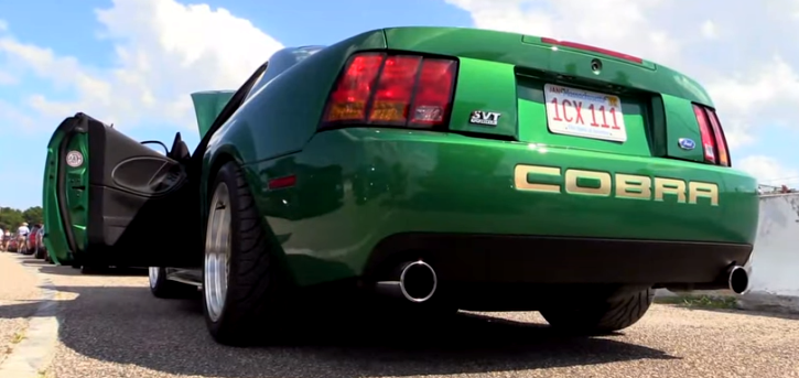electric green 1999 mustang cobra custom