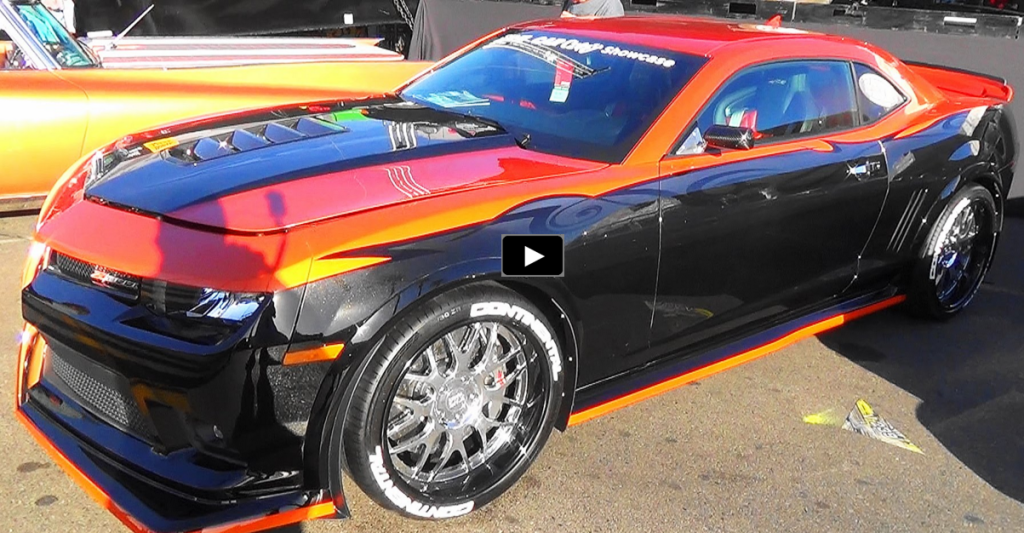 Custom Built 2015 Chevy Camaro Z28 A K A Z2rad Hot Cars