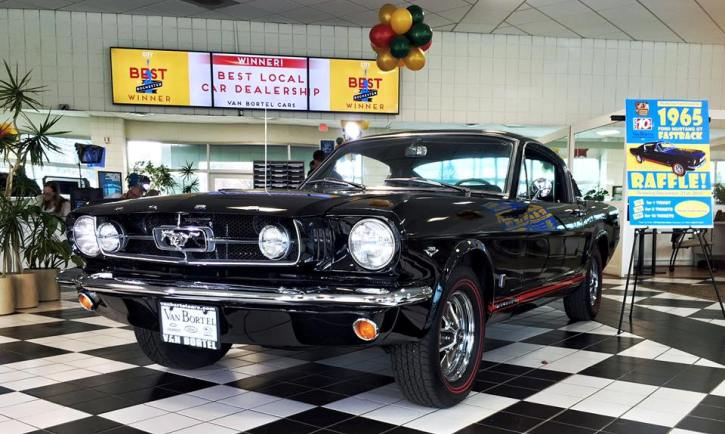 1965 ford mustang gt 289