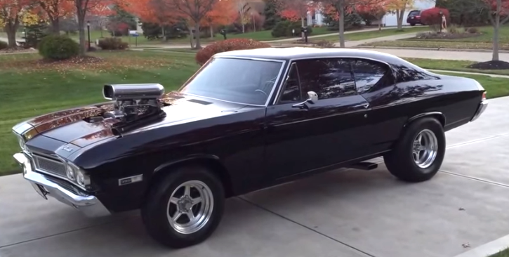 blown 1968 chevy chevelle