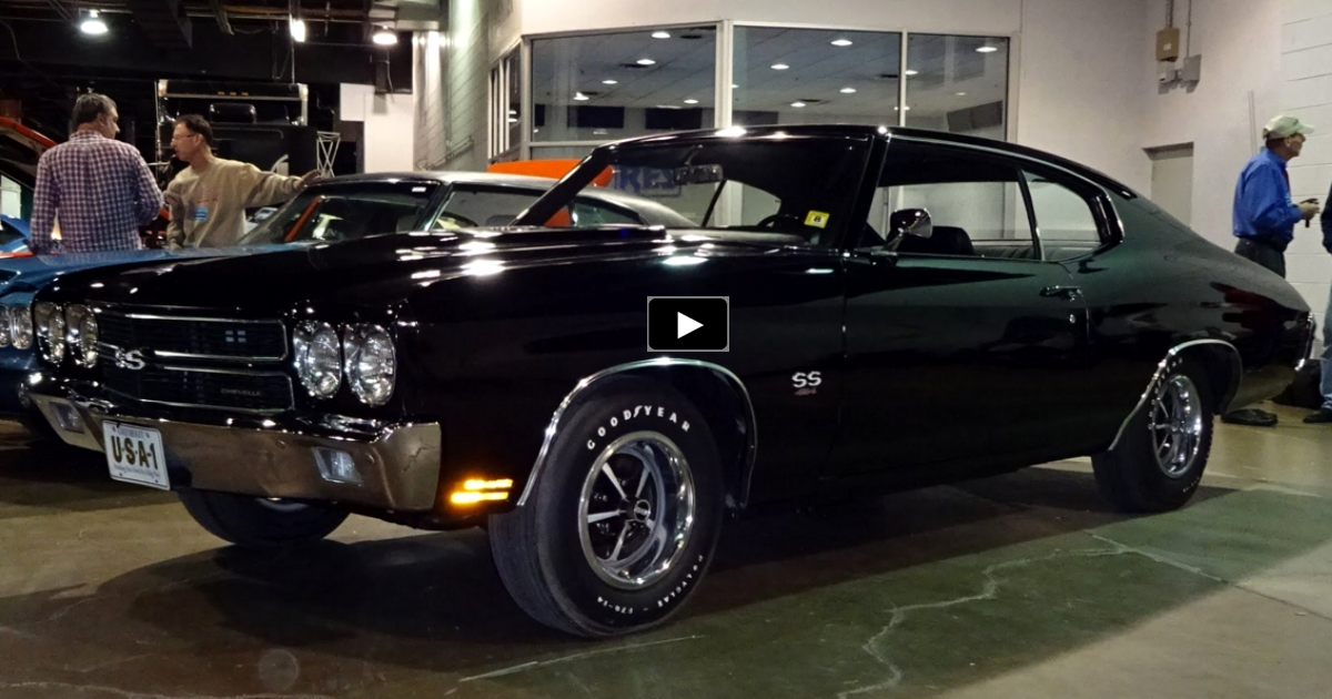 unrestored 1970 chevy chevelle ss