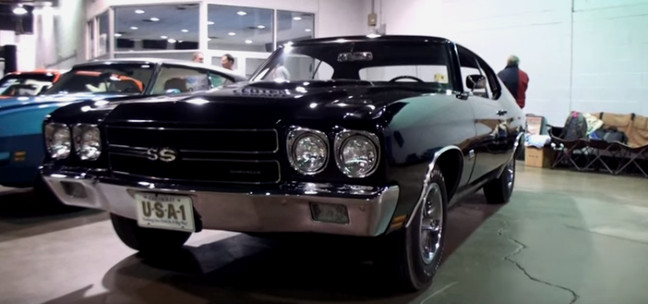 all original 1970 chevrolet chevelle ss