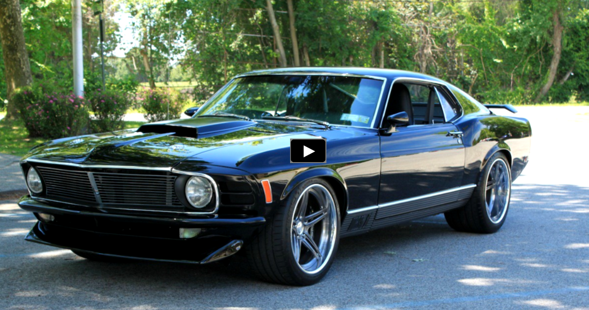 custom built 1970 ford mustang mach 1