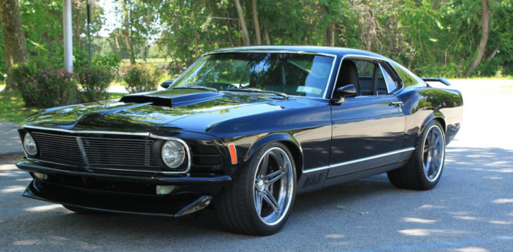 1970 ford mustang mach 1 custom