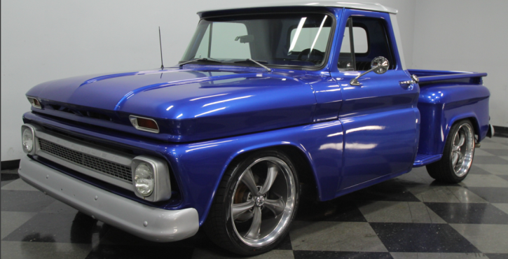 customized 1965 chevy c10 pick up