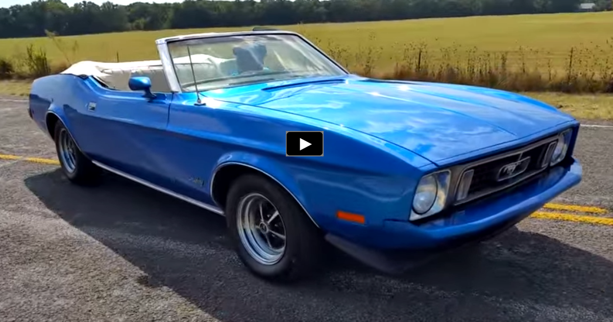 restored 1973 ford mustang convertible