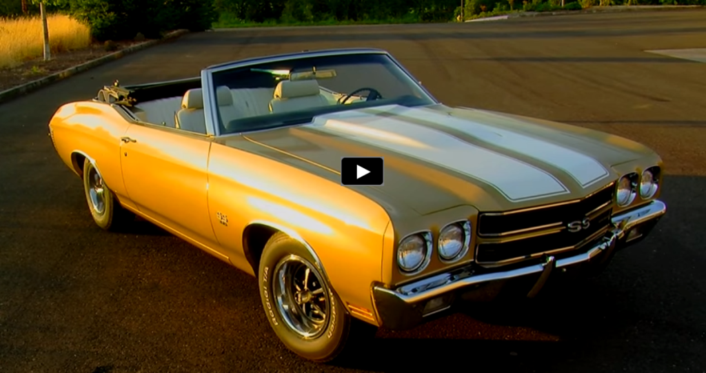 Unrestored 1970 Chevy Chevelle Ss Convertible Hot Cars