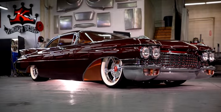 "Kindig Design Cars >> CHOP TOP 1960 CADILLAC CUSTOM ""COPPER CADDY"" 