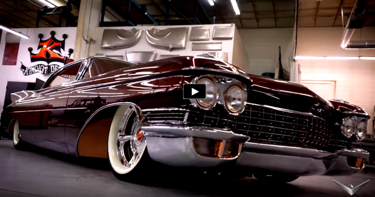 CHOP TOP 1960 CADILLAC CUSTOM