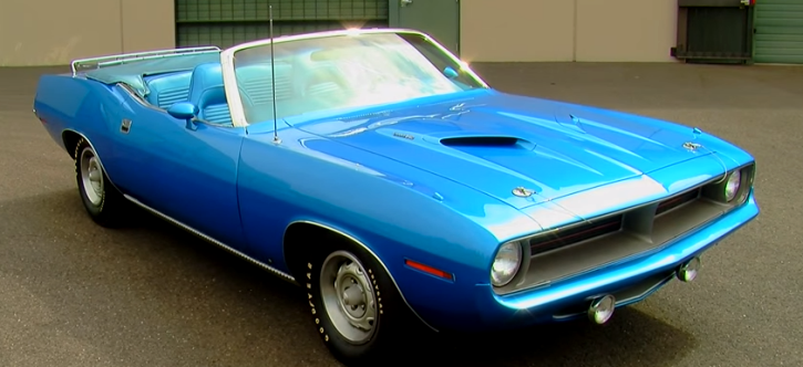 1970 plymouth cuda 340 v8 drop top