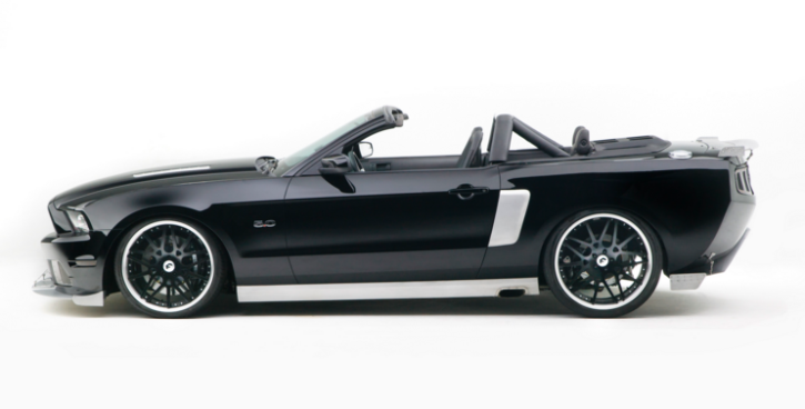 convertible 2014 mustang hollywood hot rods