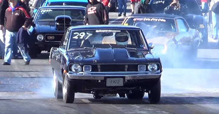 1972 dodge dart drag racing