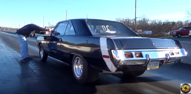 9 second dodge dart small block