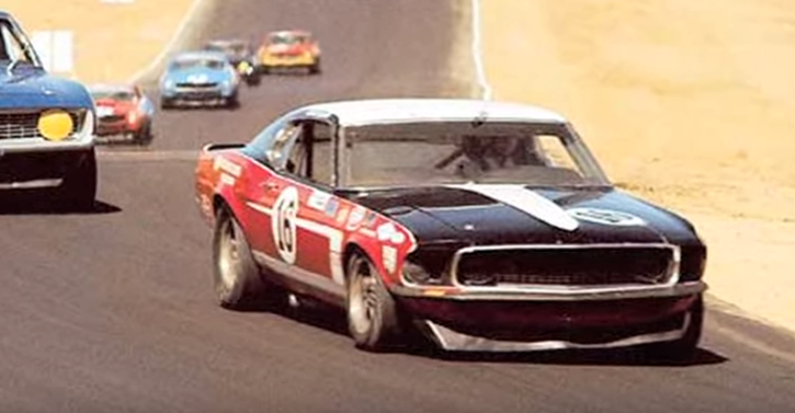 original 1969 mustang boss 302 race car