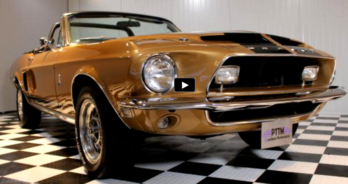 original 1968 shelby gt500 convertible