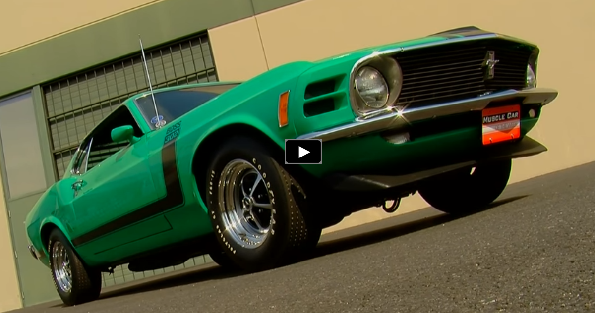 1970 mustang boss 302 brothers collection