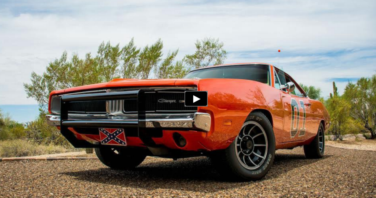 1968 dodge charge general lee tribute