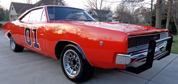 dodge charger general lee reproduction