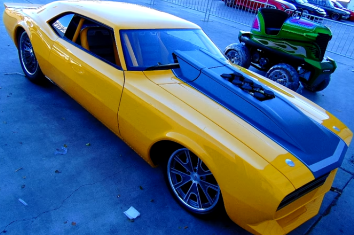 custom 1968 camaro impulse sema 2015