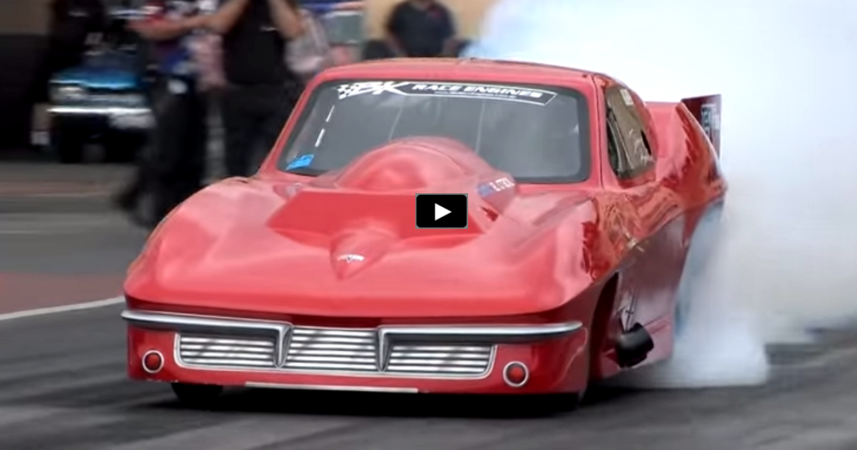 5 second turbocharged outlaw corvette