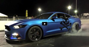 whipple supercharged 2015 mustang gt drag racing