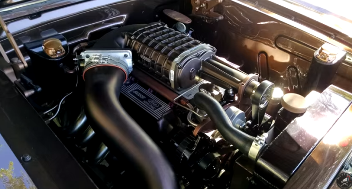 supercharged 1965 mustang by autocraft