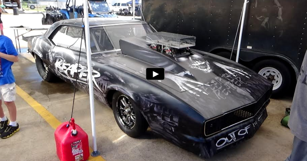 """Chevy Reaper For Sale >> THE NITROUS FED 1968 CAMARO """"REAPER"""" IN ACTION   HOT CARS"""