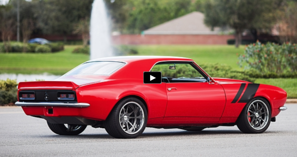 700hp SUPERCHARGED 1968 CHEVY CAMARO RESTO MOD HOT CARS