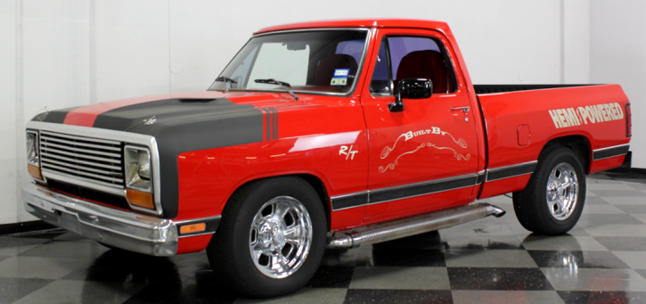 custom built 1984 dodge ram pick up