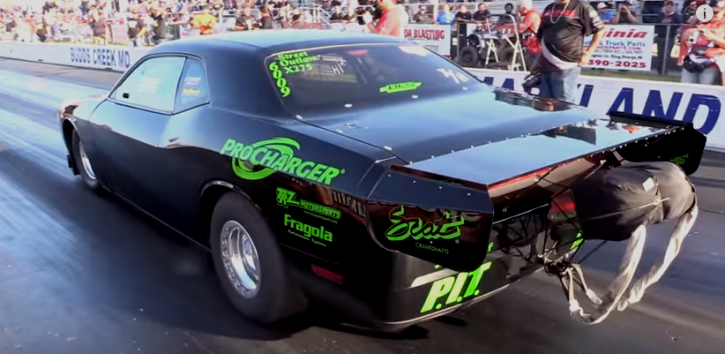 6 second dodge challenger f1x procharger