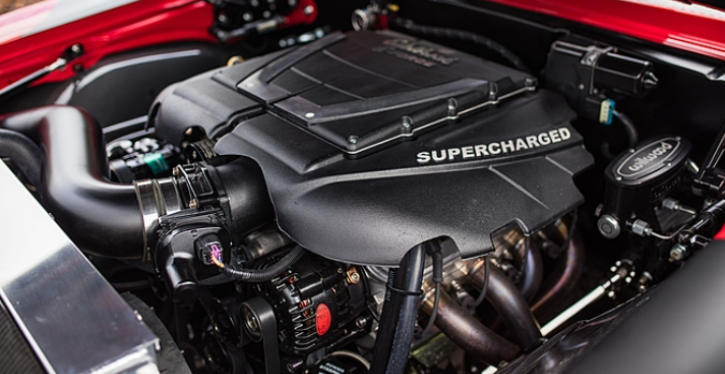 1968 chevy camaro edelbrock e-force supercharger