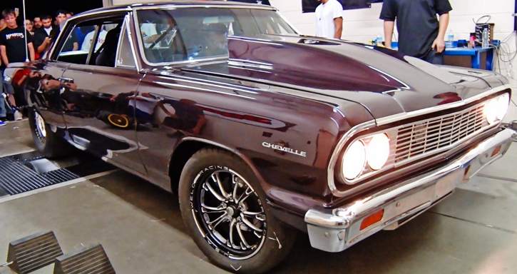 twin turbocharged 1964 chevrolet chevelle ss