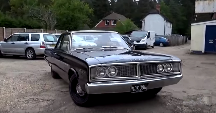 all original 1966 dodge hemi coronet