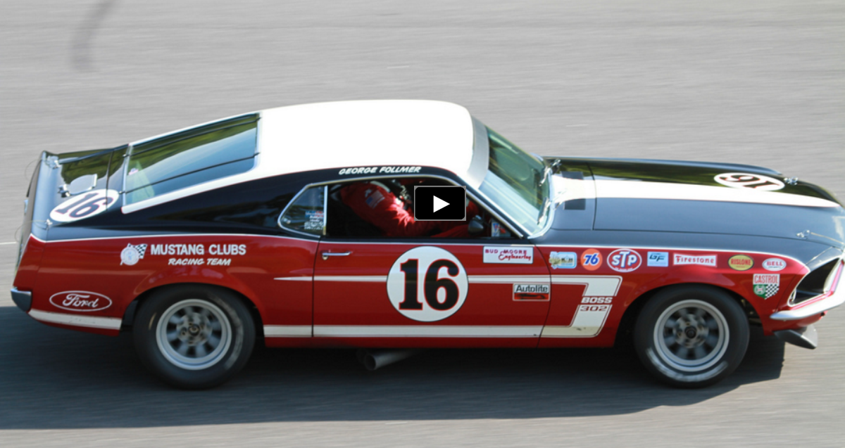 original 1969 mustang boss 302 trans am