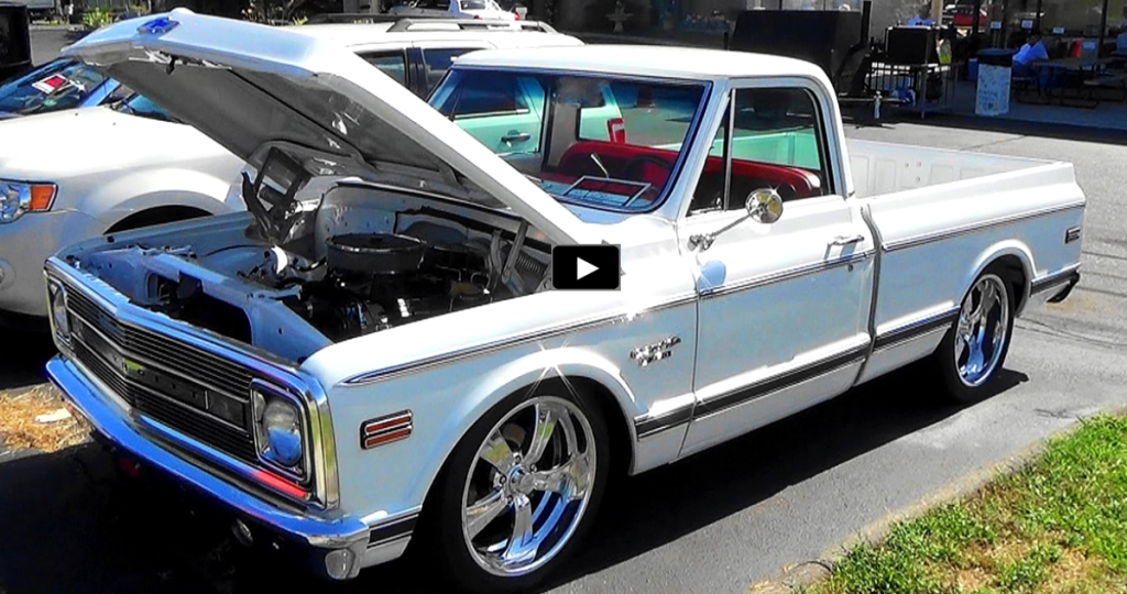 Clean 1969 Chevy C10 Custom Truck In White Amp Red Hot Cars