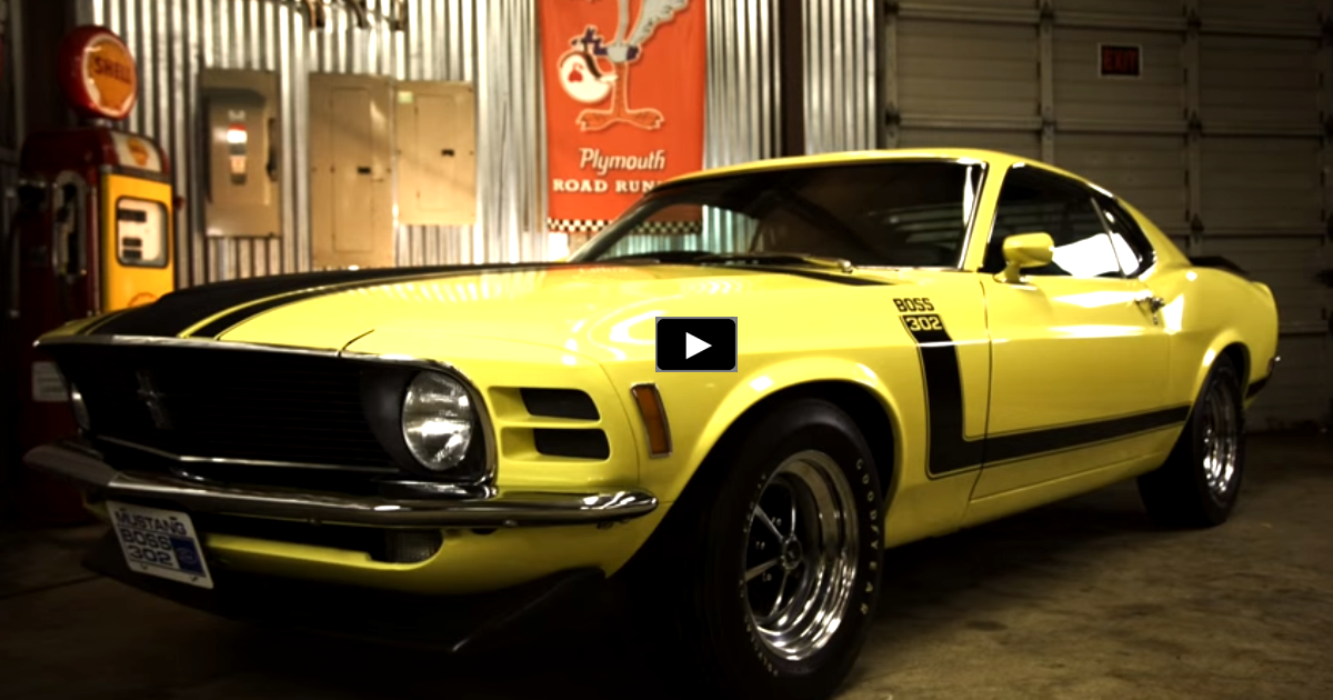 original 1970 ford mustang boss 302