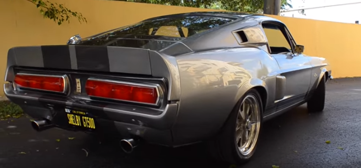 IMMACULATE 1967 FORD MUSTANG GT500 ELEANOR BUILD | HOT CARS
