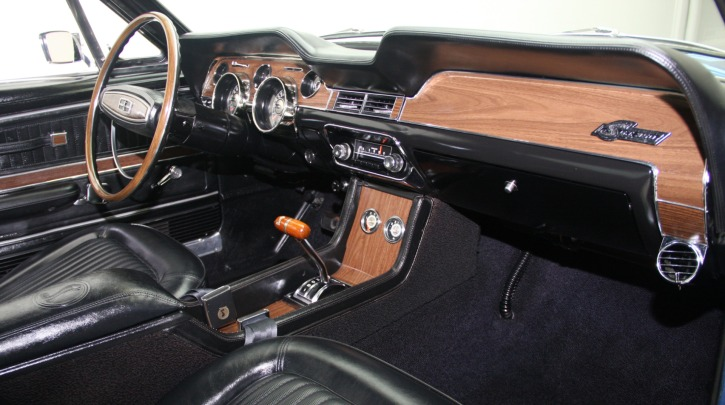 1968 mustang shelby gt350 marti report