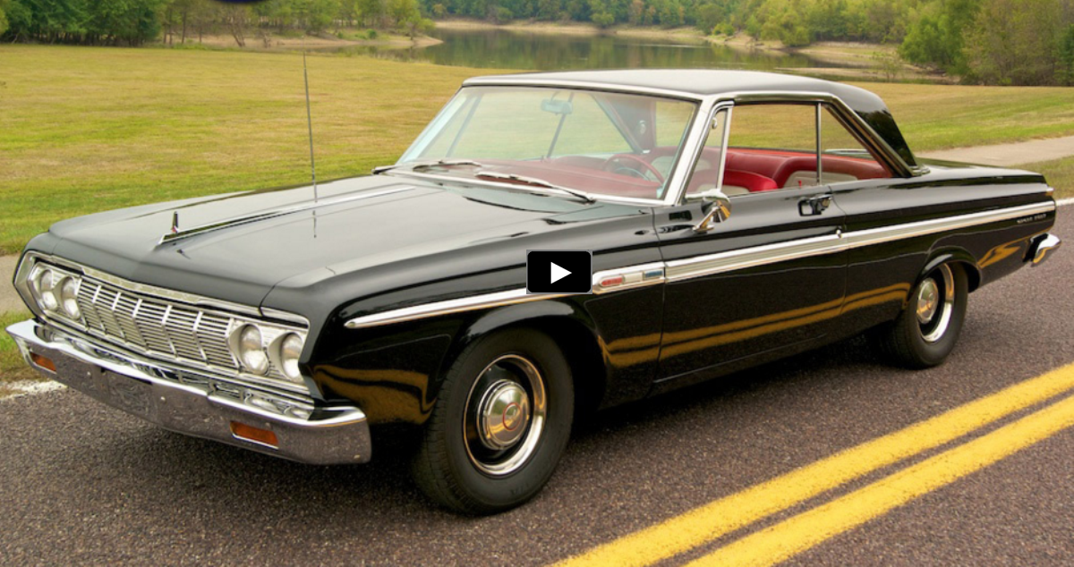 restored 1964 plymouth sport fury