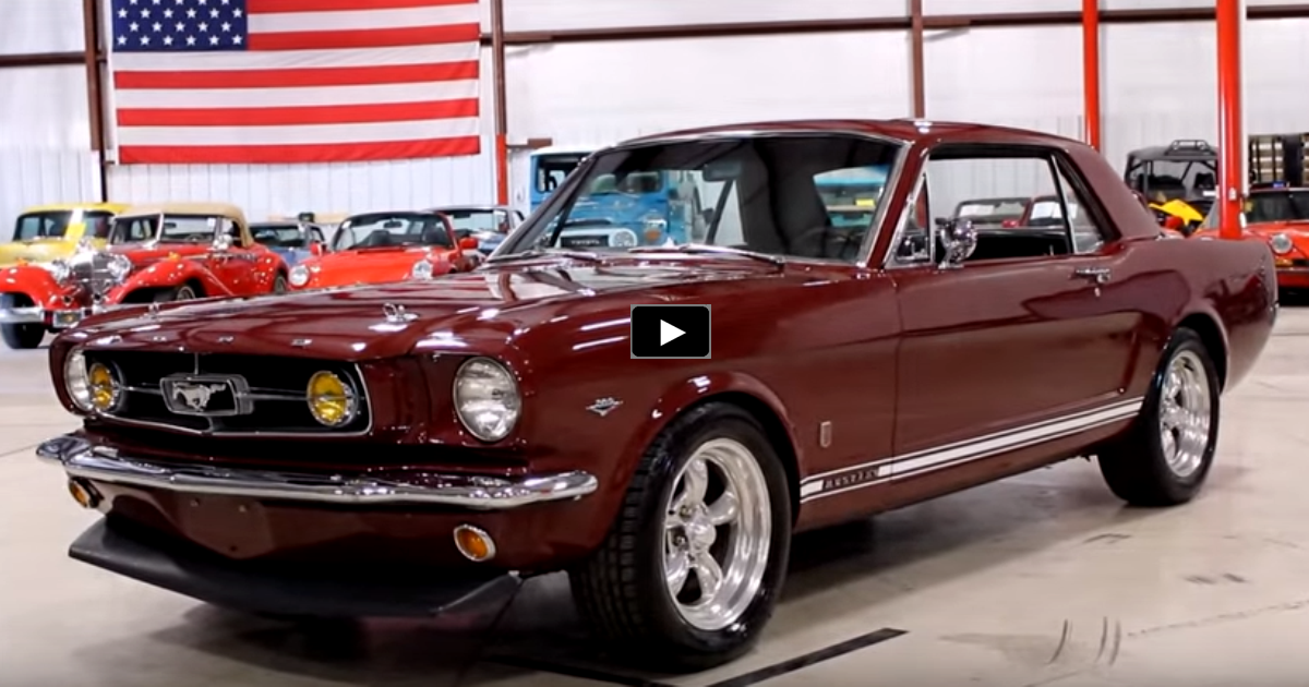 custom built 1965 ford mustang coupe