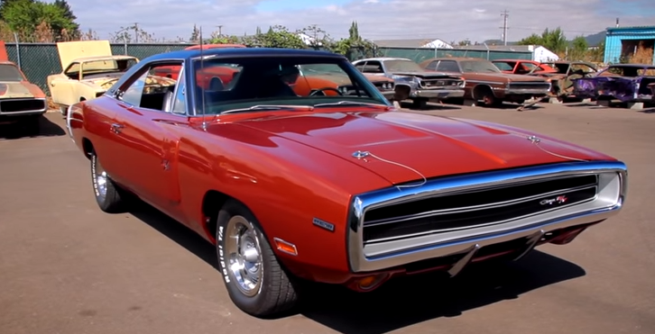 1970 dodge hemi charger r/t restoration