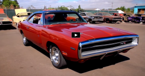 restored 1970 dodge hemi charger