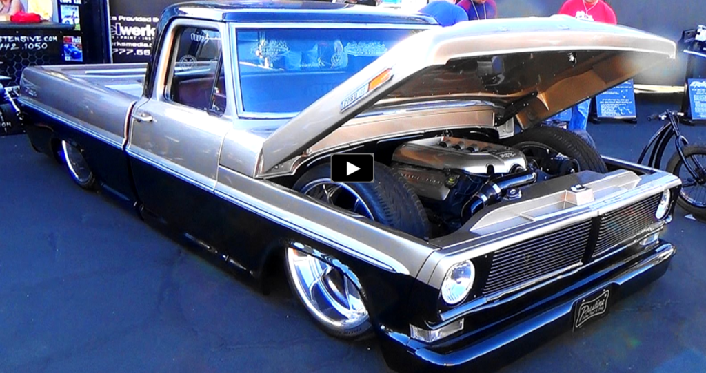 "SICK 1970 FORD F-100 CUSTOM TRUCK ""COYOTE UGLY"" 