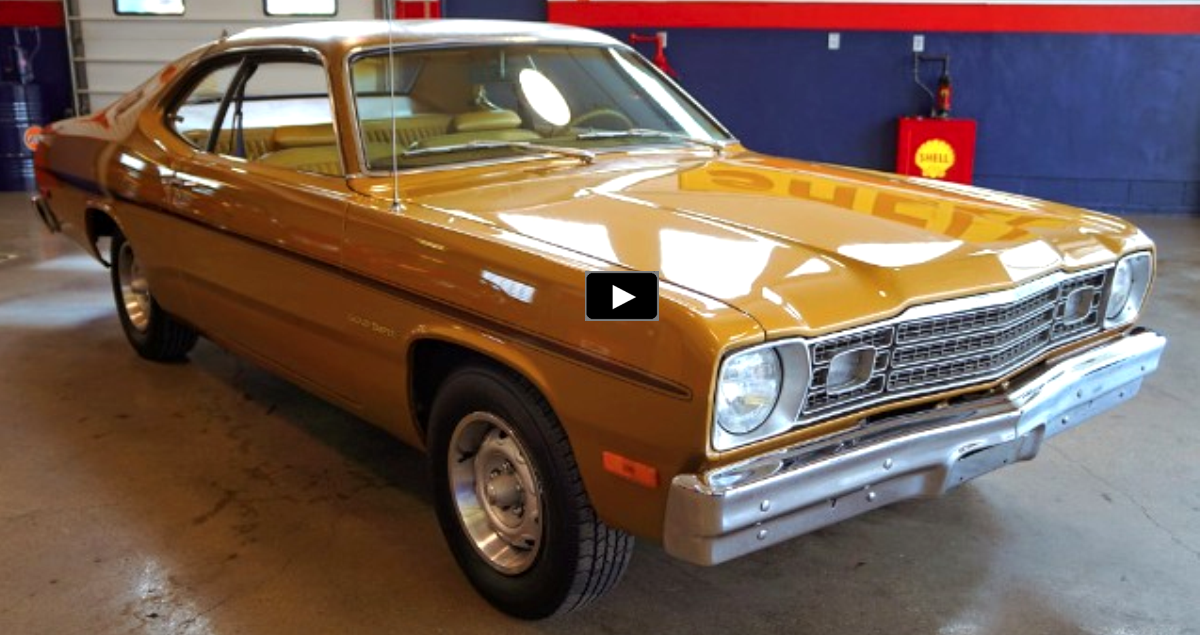 restored plymouth gold duster