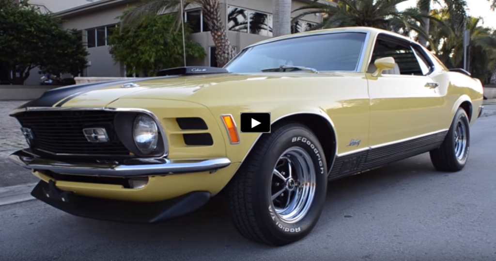 SUPER RARE 1970 MUSTANG MACH 1 Q-CODE 428 CJ | HOT CARS